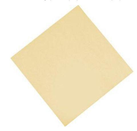 Cream 2 Ply Dinner Serviettes 1/4 Fold 400mm x 400mm - Box of 1,000