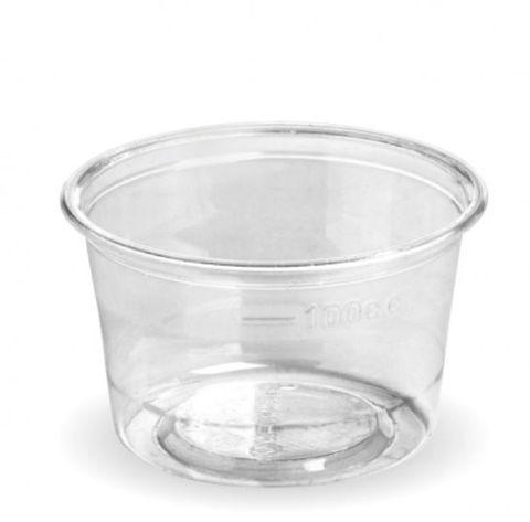 BioPak 140ml Sauce Cup (Gravy Cup) - Box of 1,000