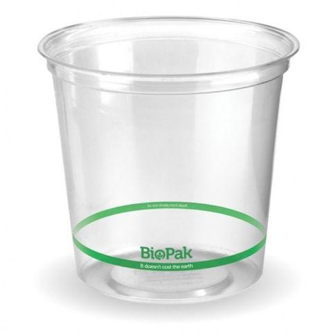 BioPak 700ml Clear Bio Bowl - Box 500