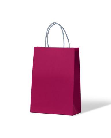 Junior Loop handle Paradise Pink Paper carry bags - EACH=1 / BOX=250