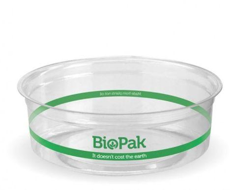 BioPak 240ml Clear BioBowl - Box of 500