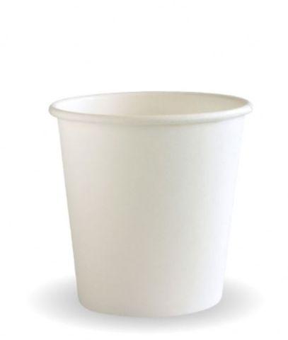 4oz White Single Wall Cup 62mm Diameter - SLEEVE=50 / BOX=1,000