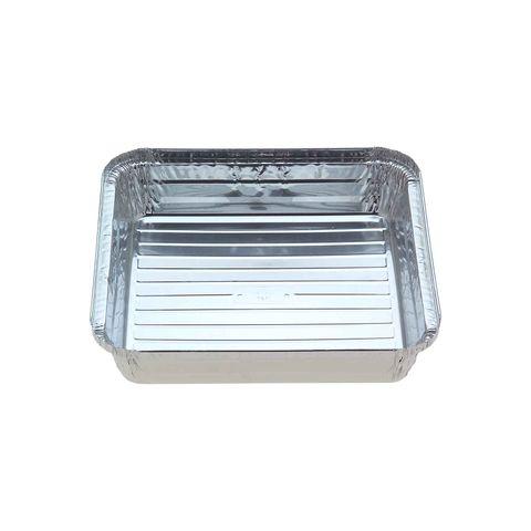 Large Square Foil Tray 273mm(W) x 273mm(L) x 49mm(H) (7127) - Box of 125