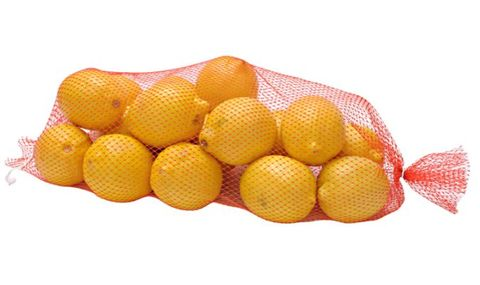 Orange Heat Seal Nets 380mm Plastic (for Onions and Oranges) - PACK=100 / BOX=1,000