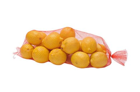 Orange Heat Seal Nets 430mm Plastic (for Onions and Oranges) - PACK=100 / BOX=1,000