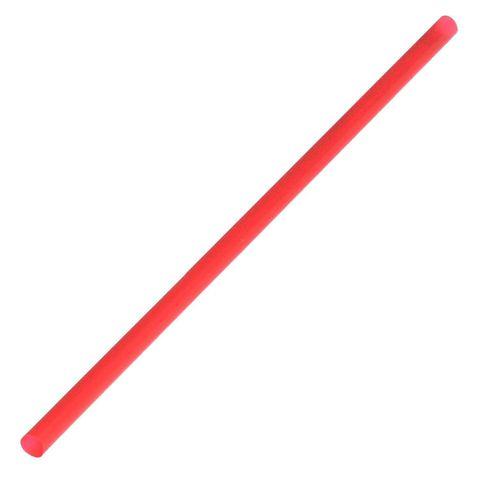 Jumbo / Thickshake Plastic Straws Red - Box of 3,000