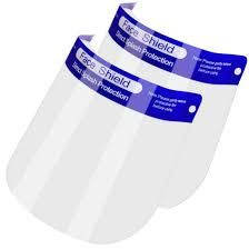 Face Shield / Face Protector Reusable - Packets of 10