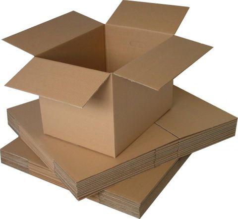 Mailing / Storage Die Cut Box 220mm X 160mm X 77mm 3C A4 Carton - Each