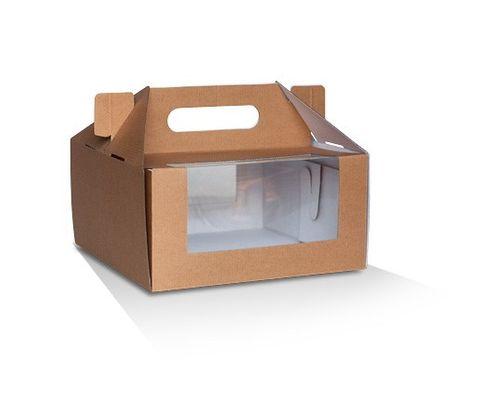 "Pack and Carry Boxes 8"" x 4"" / 203.2mm(L) x 203.2mm(W) x 101.6mm(H) - Box of 100"
