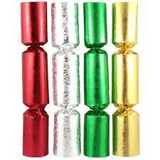 "Xmas Bon Bon 10"" Foil Gold Design - Box 50"