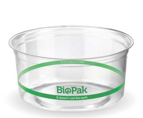 BioPak 360ml Clear Bio Bowl - Box 500