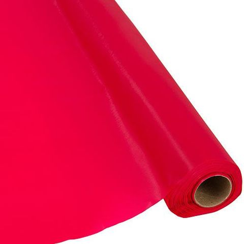 Paper Table Roll Enviro Range 1.2m Wide x 20M Length - RED