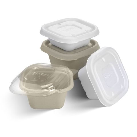 Takeaway Reusable Food Storage Container 480ml With Lid (8316) - Box of 150