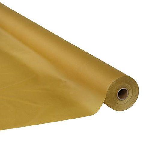 Paper Table Roll Enviro Range 1.2m Wide x 20M Length - GOLD