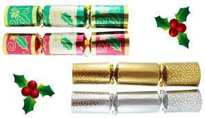 """Xmas Bon Bon 8"""" Foil Holly Design - Box 100"""