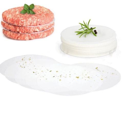 Hamburger Plastic Disc Packets