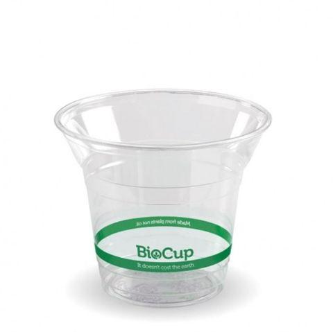 BioPak 300ml Clear PLA Bio Cups - Box of 1,000