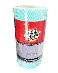 Green Premium Heavy Duty Cleaning Wipes 80 Sheets Per Roll 300mm x 500mm - Each