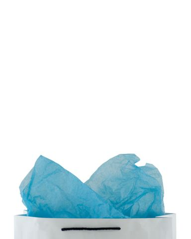 Premium 17gsm Blue Coloured Tissue Paper 500mm(W) x 750mm(L) - Packet of 480
