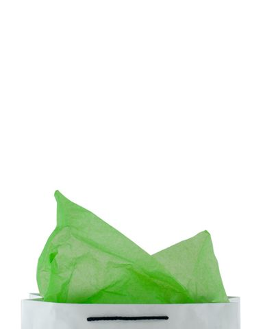Premium 17gsm Lime Green Coloured Tissue Paper 500mm(W) x 750mm(L) - Packet of 480