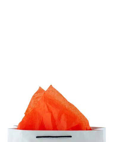 Premium 17gsm Orange Coloured Tissue Paper 500mm(W) x 750mm(L) - Packet of 480