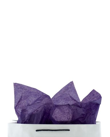 Premium 17gsm Purple Coloured Tissue Paper 500mm(W) x 750mm(L) - Packet of 480