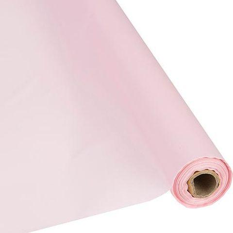 Paper Table Roll Enviro Range 1.2m Wide x 20M Length - LIGHT PINK