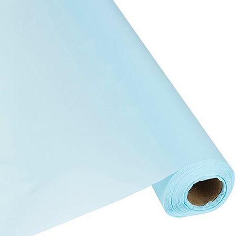 Paper Table Roll Enviro Range 1.2m Wide x 20M Length - LIGHT BLUE