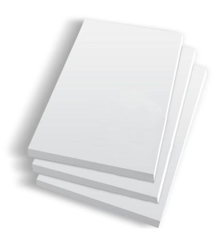 "White Writing Pads  3"" x 5"" / 75mm(W) x 125mm(L) - PACKET=10 / BOX=100"