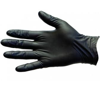 Nitrile BLACK Small High Stretch Gloves Powder Free TGA Approved - Box of 1,000
