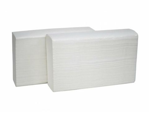 Universal Hygiene Deluxe Interleaved Paper Hand Towel White 230mm x 240mm - Box of 16