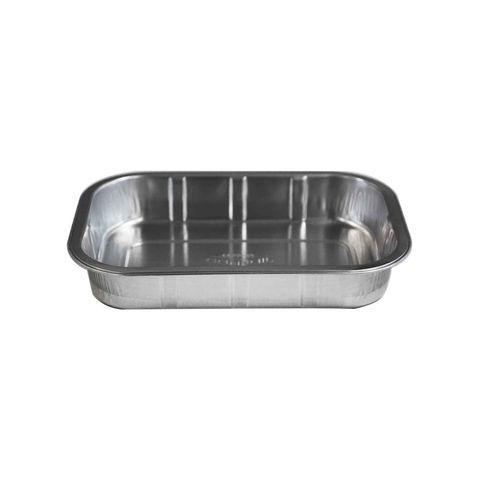 Heavy Duty Smooth Wall Foil Tray 750ml 221mm(L) x 130mm(W) x 33mm(H) (6522-33) - Box of 600