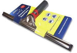 Stainless Steel 250mm Squeegee Complete With Handle - Each