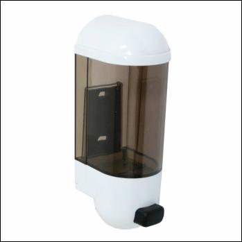 Soap Dispenser 600ml Refillable Budget Wall Mount - Each