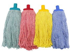 Green Commercial Cotton Mop Head 400gm - Each