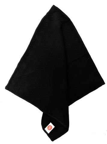 Microfibre 40cm x 40cm Premium Jet Black - Pack of 10