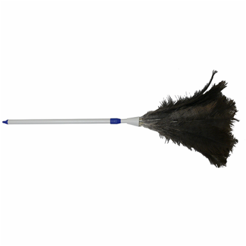 Genuine Ostrich Feather Duster 140cm Extendable With Plastic Handle - Each
