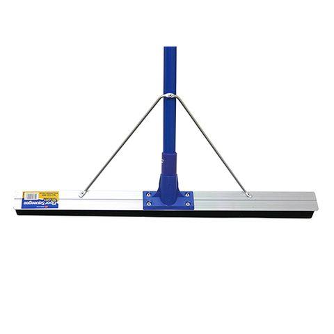 Double Layer Blue Neoprene Floor Squeegee 45cm With Reinforced Galvanized Bracket - Each