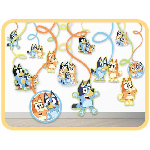 Bluey Spiral Decoration Party Value Pack - Pack