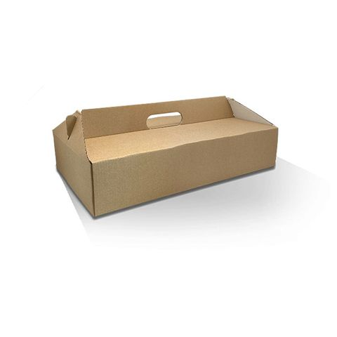 Pack and Carry Large Reversible Catering Box (no window) 400mm(L) x 200mm(W) x 85mm(H) - Box of 100