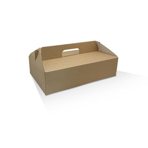 Pack and Carry Medium Reversible Catering Box (no window) 320mm(L) x 250mm(W) x 85mm(H) - Box of 100