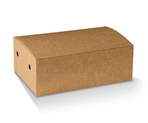 Eco Series Brown Medium Snack Boxes Cardboard 172mm(L) x 104mm(W) x 66mm(H) - Box of 250