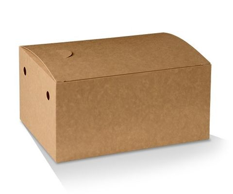 Eco Series Brown Large Snack Boxes Cardboard 190mm(L) x 110mm(W) x 68mm(H) - Box of 250