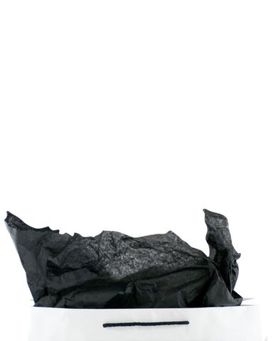 Premium 17gsm Black Coloured Tissue Paper 500mm(W) x 750mm(L) - Packet of 480