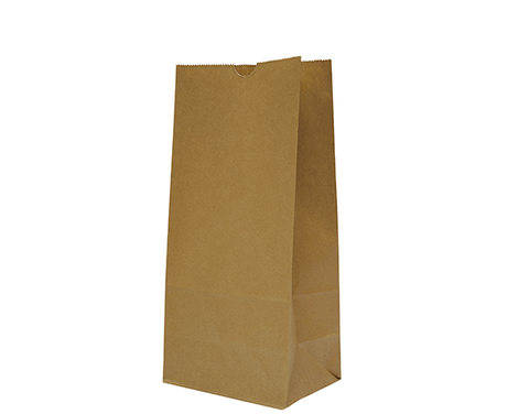 Checkout Bags Number #8 SOS Brown Paper Bags 350mm(L) x 180mm(W) x 115mm(G) - Box of 1,000