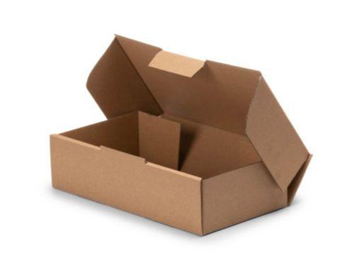Brown Kraft Corrugated Mailing Box 500gm Capacity - Box of 100