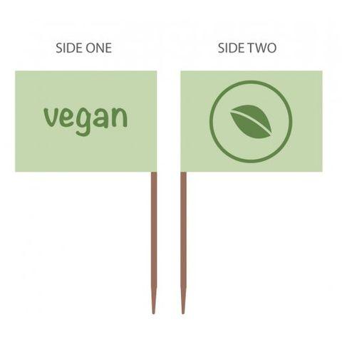 Food Marker Vegan - Box of 500