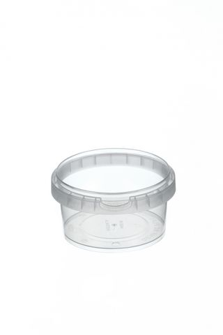 Tamper Evident Round Container Bases 210ml / 95mm Diameter - Box of 600