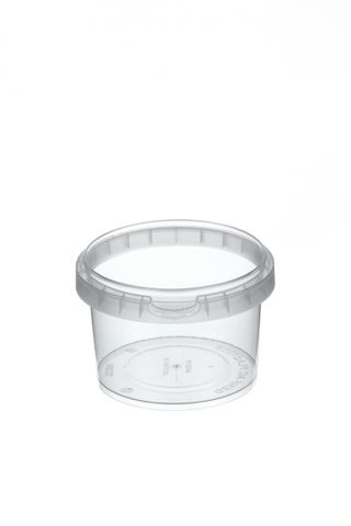 Tamper Evident Round Container Bases 280ml / 95mm Diameter - Box of 600