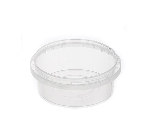 Tamper Evident Round Container Bases 300ml / 118mm Diameter - Box of 450